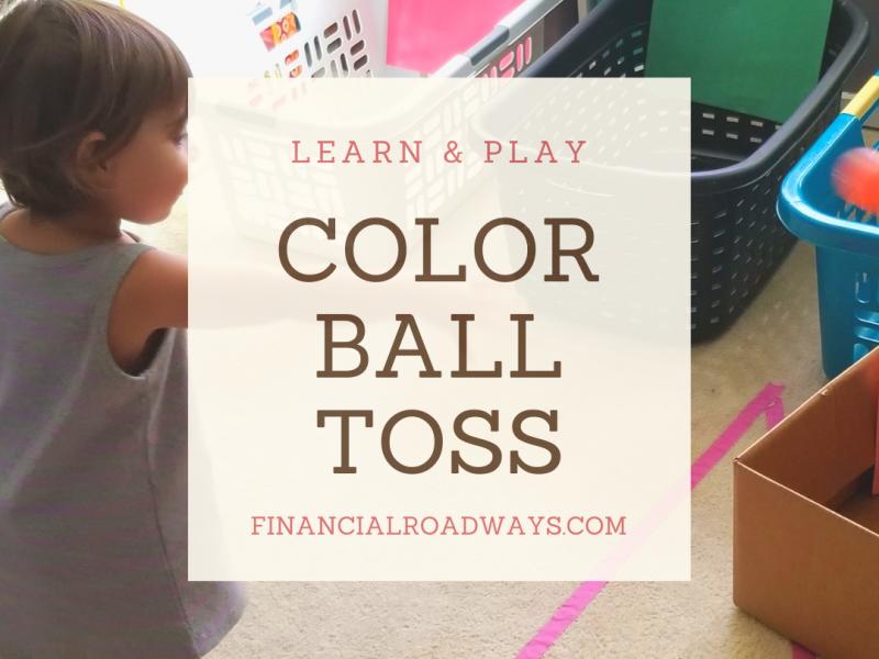 Color ball toss